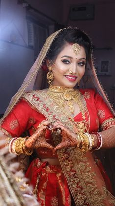 "Photo from Wedding Amour ""Wedding Photos"" album Indian Bride Photography Poses, Indian Bride Poses, Indian Wedding Poses, Indian Wedding Couple Photography, Bridal Photography, Photography Couples, Hindu Wedding Photos, Indian Wedding Pictures, Indian Bridal Photos"