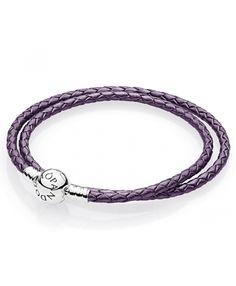 leather - buy fabulous pandora bracelets unique moments, leather, rose gold and silver designs, up to off all the latest must have looks! Pandora Uk, Cheap Pandora, Purple Braids, Pandora Leather, Leather Charm Bracelets, Pandora Bracelet Charms, Rose Gold, Charmed, Silver