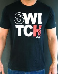 T Shirt - Switch Invert - Apparel - Accessories - Spare Parts Kitesurfing, Spare Parts, Mens Tops, T Shirt, Stuff To Buy, Awesome, Fun, Accessories, Design