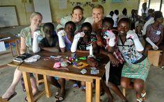 Girls Empowerment- Safe Sex Lesson. #GHEI #ghei #volunteer #international #program #travel #abroad #girl #empowerment #ngo #grassrootsngo #Africa #Ghana #summer #programs #safesex #learning #education