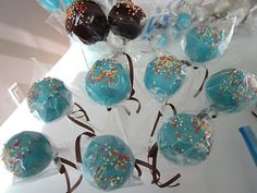 Easy Cake Pops...the boys always ask for these.