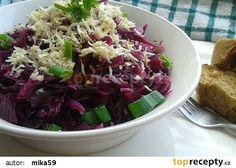 Salát z červeného zelí s křenem recept - TopRecepty.cz