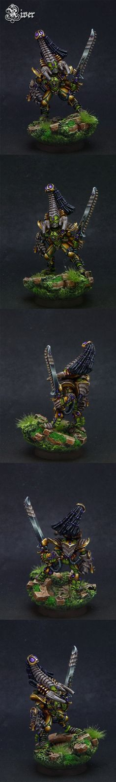 The Internet's largest gallery of painted miniatures, with a large repository of how-to articles on miniature painting Eldar 40k, Art Sites, The Grim, Warhammer 40000, Sculpture, Games Worshop, Geek Stuff, Lord, Miniatures