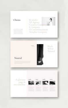 Neutral PowerPoint Template is a gorgeous presentation to show your project & ideas. This multi-purpose template might help you create effective presentation