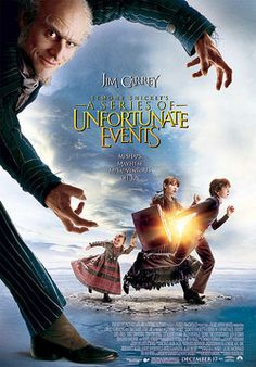 "Lemony Snicket's A Series of Unfortunate Events (2004) ""What might seem to be a series of unfortunate events may in fact be the start of a journey."" I thought this movie was really cute!"