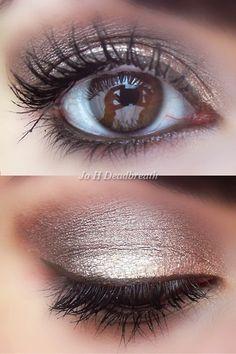 I love the brown eyeliner