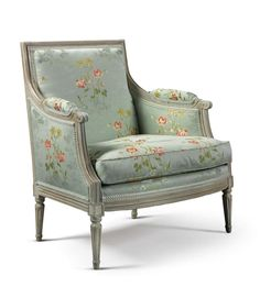 A LOUIS XVI CARVED AND WHITE-PAINTED MARQUISE CIRCA 1775 |