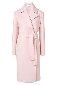 Lined Lapel Coat | Clothing
