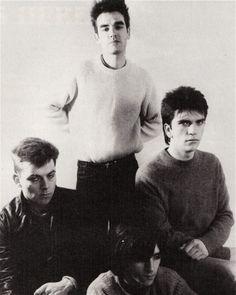 The Smiths ― photo by Lisa Haun (1984).
