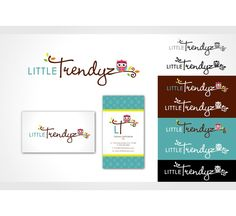 Create the next logo for little trendyz by samovilka