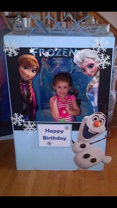 Brae's Frozen Photo Booth