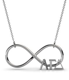 sneak peek…. ΑΓΔ infinity necklace coming in May to A•LIST GREEK!! ♡