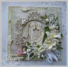 Celestial-Art, Card with flowers
