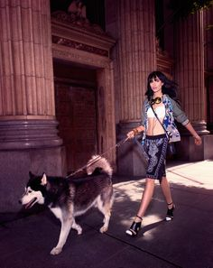 langley fox hemingway model2 Langley Fox Hemingway is City Chic for Bazaar China by Markus&Koala