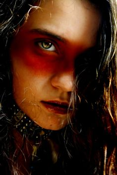 No warrior should die without their war paint on