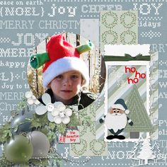 Layout by smikeel. Kit: White Christmas Combo by Meryl Bartho http://scrapbird.com/designers-c-73/k-m-c-73_516/meryl-bartho-c-73_516_522/white-christmas-combo-p-18391.html
