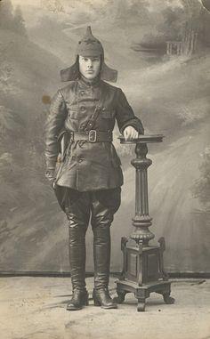 Red Army man, Russian Civil War