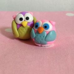 polymer clay owl tutorial ♥