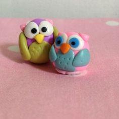 polymer clay owl tutorial ♥