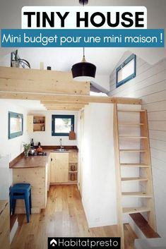Awesome Tiny House Interior Ideas 41 - Home Decor Ideas 2020 Tiny House Big Living, Modern Tiny House, Rv Living, Small Living, Tiny House Builders, Tiny House Nation, Small Room Design, Tiny House Design, Built In Couch