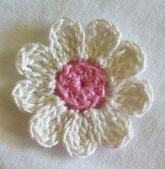 "Crochet Flower Appliques set of 16 handmade by IreneStitches ""Crochet Flower Appliques set of 16 handmade craft"""