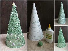 artesanato com cone de linha - Pesquisa Google