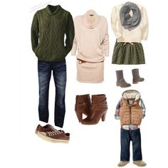 A fashion look from October 2014 featuring chunky cable knit sweater, side zipper boots and brown lace-up boots. Browse and shop related looks. Neutral Family Photos, Fall Family Photos, Fall Photos, Family Pictures, Picture Ideas, Photo Ideas, Chunky Cable Knit Sweater, Black Families, Lace Up Boots