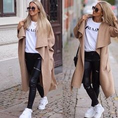 Stylish Winter Outfits that Need to be Taken Right Now 38 - TrueClothes Stylish Winter Outfits, Winter Mode Outfits, Winter Fashion Outfits, Fall Outfits, Autumn Fashion, Casual Outfits, Cute Outfits, Winter Stil, Long Jackets