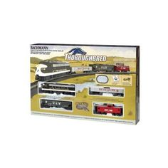 Amazon.com: Bachmann Trains Thoroughbred Ready-to-Run HO Scale Train Set: List Price: $105 Sale: $79.99