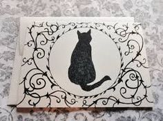 victorian cat drawing - Google Search