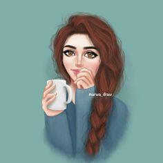 36 Best Marwa Art Images Sarra Art Girl Sketch Girly M