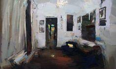 "Saatchi Art Artist Carlos San Millan; Painting, ""Interior #122"" #art"