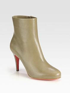 Christian Louboutin - Bello Leather Ankle Boots - Saks.com
