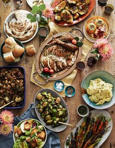 Everything you could possibly need for your Thanksgiving menu including the turkey, gravy, soups. sides and a handful of fun and decadent desserts.