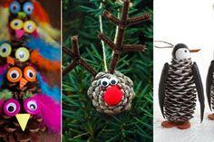 20 nouveaux bricolages pour enfants à faire avec des cocottes pin!