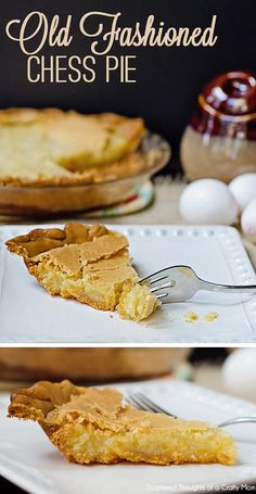 This Old Fashioned Chess Pie recipe is one of my favorites! It's gooey, buttery flavor is very sweet and rich. and is the perfect sweet ending to any holiday meal or special occasion. Chocolate Chess Pie, Chocolate Pie Recipes, Chocolate Shop, Chocolate Ganache, Easy Smoothie Recipes, Snack Recipes, Dessert Recipes, Cake Recipes, Old Fashioned Chess Pie Recipe