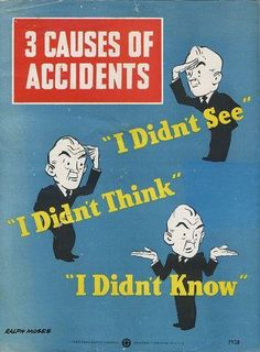 3 Caues of Accidents    Embedded image permalink