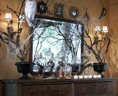 love this too. Do I have access to dead branches I can paint black? Yes I do.