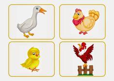 Fejlesztő Műhely: Logo Kuckó Bingo, Rooster, Animals, Nara, School Stuff, Activities, Note Cards, Animales, Animaux