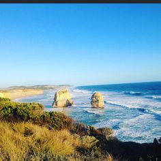 """""""We live in a wonderful world that is full of beauty charm and adventure. There is no end to the adventures we can have if only we seek them with our eyes open. -Jawaharial Nehru #aussie#quote#quoteoftheday#australia#greatoceanroad#12apostles#travel#neverstoptravelling#beach#blue#nature#wanderlust#worldplaces#throwback by skinancy http://ift.tt/1ijk11S"""