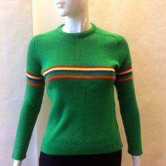 Vintage early 1980's wool ski sweater by by afterglowvintage