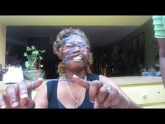 Glozell rubber band challenge. I love this woman.