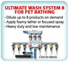 Ultimate Wash System 8 For Pet Bathing
