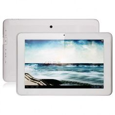 Ampe A10 Tablet PC use 10.1 inch screen, with MSM8625Q quad core 1.2GHz professor, has 1GB RAM, 4GB ROM, 0.3MP front and 5MP back dual camera, and installed Android 4.1 OS.