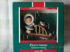 Hallmark 1989 Frosty Friends Tenth in Series