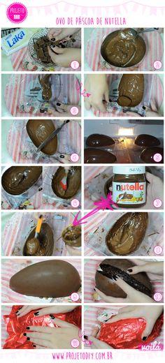 Como Fazer Ovo de Páscoa de Nutella | Nutella's Easter Egg