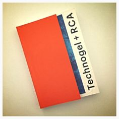 The uber-cool booklet made in collaboration with Royal College of Art and listing all the projects carried out by the students while exploring Technogel. A catalogue of innovative and eye-opening new products. #technogel #royalcollegeofart #RCA #designproducts