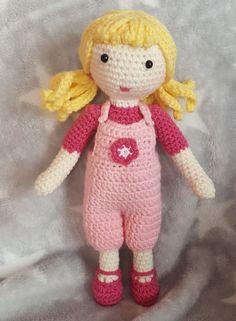 Puppe gehäkelt häkeln Spielzeug Mädchen Lalylala Amigurumi    Kauf mich für nur 17,99€