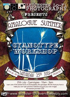 Cyanotypes workshop