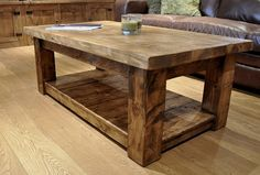 Image for Best Rustic Reclaimed Coffee Table